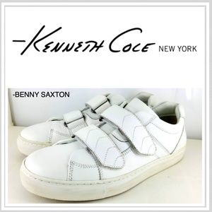 KENNETH COLE CRESENT MOON LEATHER CASUAL SHOES